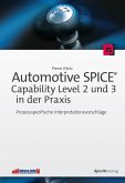 Automotive SPICE® - Capability Level 2 und 3 in der Praxis (eBook, ePUB)