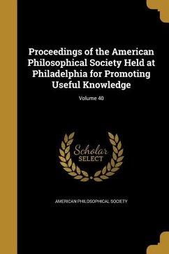 PROCEEDINGS OF THE AMER PHILOS