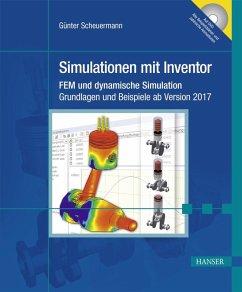 Simulationen mit Inventor (eBook, ePUB) - Scheuermann, Günter