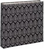 Hama La Fleur Jumbo schwarz 30x30 100 weiße Seiten 2219