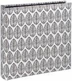 Hama La Fleur Jumbo weiß 30x30 100 schwarze Seiten 2220