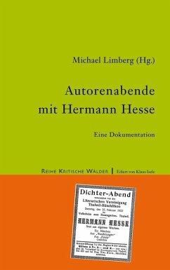 Autorenabende mit Hermann Hesse (eBook, ePUB)