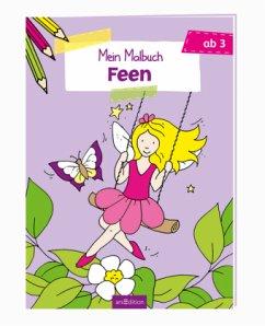 Mein Malbuch - Feen