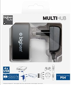 MULTI HUB, 4-Fach-USB-HUB für PS4/PlayStation VR
