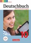 Deutschbuch - Differenzierende Ausgabe 10. Schuljahr - Hessen - Schülerbuch