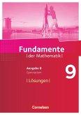 Fundamente der Mathematik - Ausgabe B. 9. Schuljahr - Lösungen zum Schülerbuch