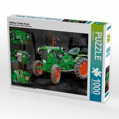 Oldtimer Traktor Deutz (Puzzle)
