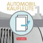 Automobilkaufleute Band 1: Lernfelder 1-4 - Fachkunde und Arbeitsbuch