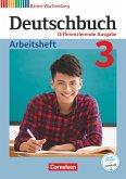 Deutschbuch - Differenzierende Ausgabe Band 3: 7. Schuljahr- Baden-Württemberg - Arbeitsheft mit Lösungen