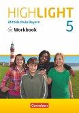 Highlight 5. Jahrgangsstufe - Mittelschule Bayern - Workbook mit Audios online