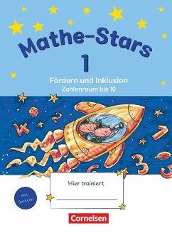 Mathe-Stars 1. Schuljahr - Zahlenraum bis 10 - Übungsheft