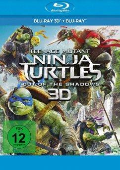 Teenage Mutant Ninja Turtles: Out of the Shadows - 2 Disc Bluray - Megan Fox,Casey Jones,Laura Linney