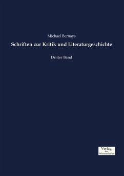 Schriften zur Kritik und Literaturgeschichte