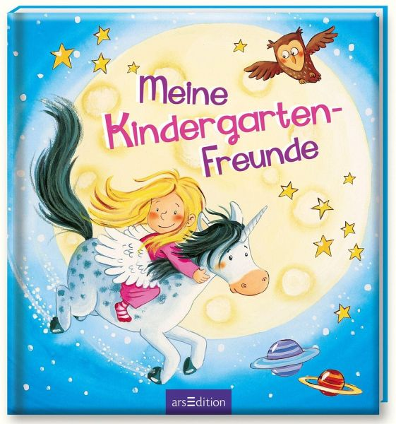 meine kindergarten freunde einhorn buch b. Black Bedroom Furniture Sets. Home Design Ideas