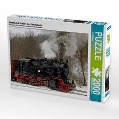Einheitslok 99 6001 der Selketalbahn (Puzzle)
