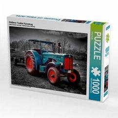 Oldtimer Traktor Hanomag (Puzzle)