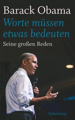 »Worte müssen etwas bedeuten« - Obama, Barack