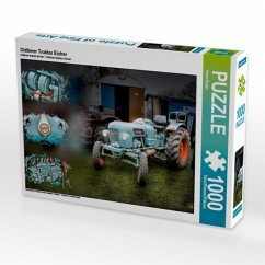 Oldtimer Traktor Eicher (Puzzle)