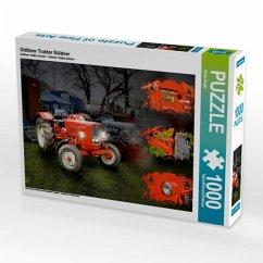 Oldtimer Traktor Güldner (Puzzle)