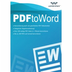 Wondershare PDF to Word Converter - lebenslange Lizenz (Download für Windows)
