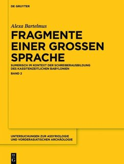 Fragmente einer grossen Sprache (eBook, ePUB) - Bartelmus, Alexa Sabine