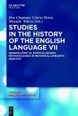 Studies in the History of the English Language VII (eBook, ePUB)