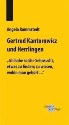 Gertrud Kantorowicz und Herrlingen