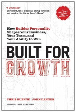 Built for Growth: How Builder Personality Shapes Your Business, Your Team, and Your Ability to Win - Kuenne, Chris; Danner, John