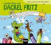 Liederhits mit Dackel Fritz, 3 Playback-Audio-CDs
