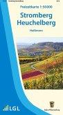 Topographische Freizeitkarte Baden-Württemberg Stromberg Heuchelberg