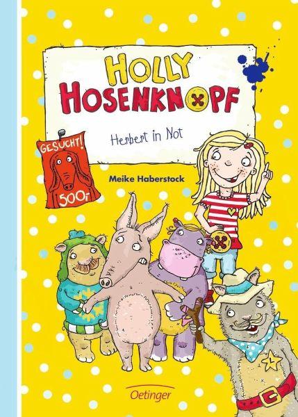 Buch-Reihe Holly Hosenknopf