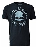 Call of Duty - Skull Tour - T-Shirt - Größe XL, schwarz
