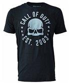 Call of Duty - Skull Tour - T-Shirt - Größe S, schwarz
