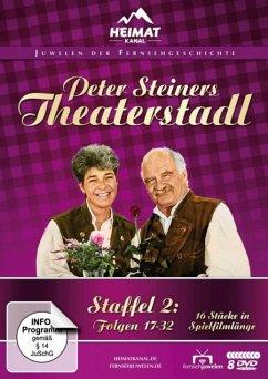 Peter Steiners Theaterstadl - Staffel 2: Folgen 17-32 DVD-Box - Steiner,Peter