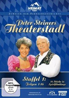 Peter Steiners Theaterstadl - Staffel 1: Folgen 1-16 DVD-Box - Steiner,Peter