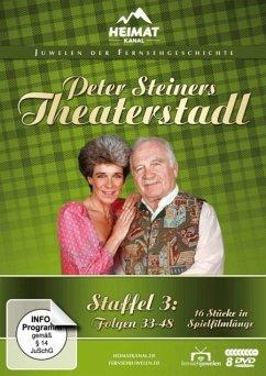 Peter Steiners Theaterstadl - Staffel 3: Folgen 33-48 DVD-Box - Steiner,Peter