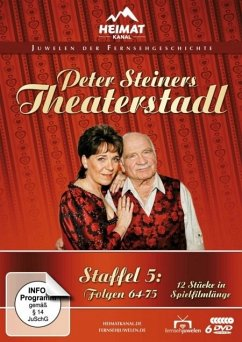 Peter Steiners Theaterstadl - Staffel 5: Folgen 64-75 DVD-Box - Steiner,Peter