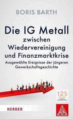 Die IG Metall zwischen Wiedervereinigung und Finanzkrise (eBook, ePUB) - Barth, Boris