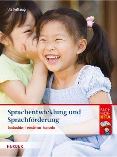 Sprachentwicklung und Sprachförderung (eBook, PDF) - Hellrung, Uta