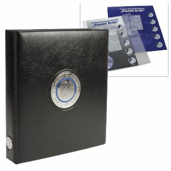 Premium Münzen Album 5 Euro Blauer Planet Für Die 5 Euro Münzen
