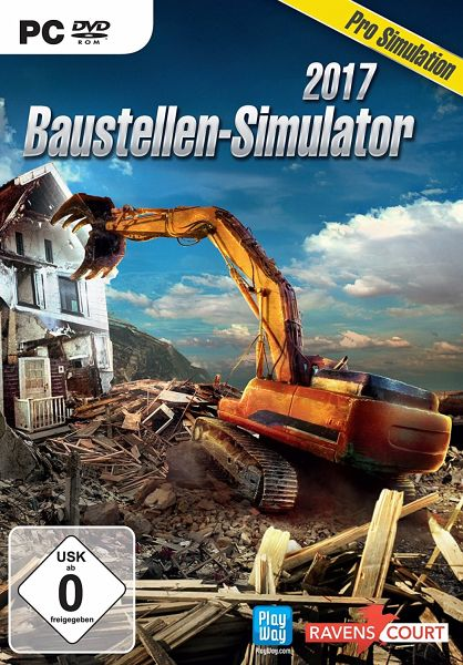 baustellen simulator 2017 pc spiel. Black Bedroom Furniture Sets. Home Design Ideas