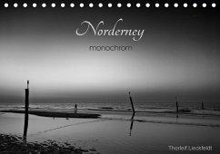 Norderney monochrom (Tischkalender 2017 DIN A5 quer) - Lieckfeldt, Thorleif