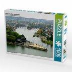 Deutsches Eck in Koblenz (Puzzle)