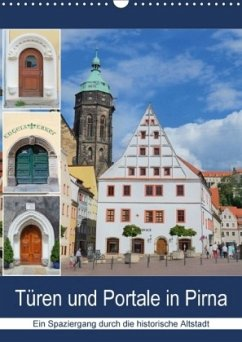 9783665528683 - Dudziak, Gerold: Türen und Portale in Pirna (Wandkalender 2017 DIN A3 hoch) - Buch