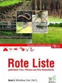 NaBiV Heft 70/4: Rote Liste gefährdeter Tiere, Pflanzen und Pilze Deutschlands - Band 4: Wirbellose Tiere (Teil 2)