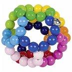 Heimess 764420 - Greifling Elastik Regenbogenball, groß