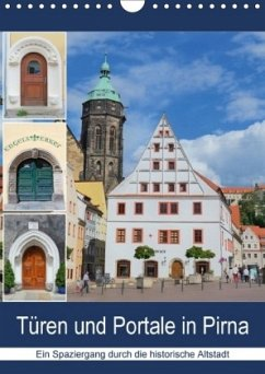 9783665528676 - Dudziak, Gerold: Türen und Portale in Pirna (Wandkalender 2017 DIN A4 hoch) - Buch