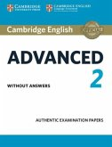 Cambridge English Advanced 2 for updated exam. Student's Book without answers