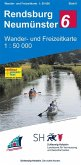 Wander- und Freizeitkarte Rendsburg - Neumünster