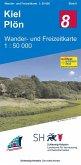 Wander- und Freizeitkarte Kiel - Plön